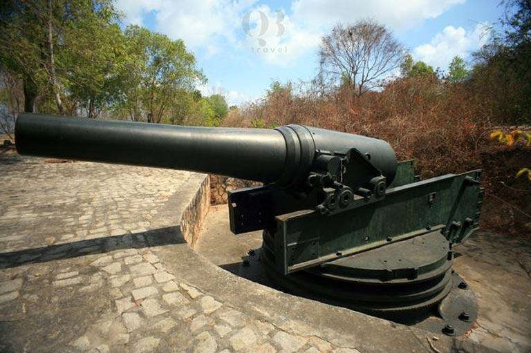Trận địa pháo Quang Phú - tàn tích lịch sử thời chiến tranh