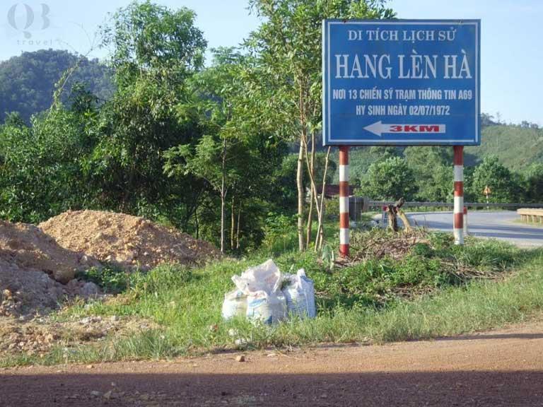 Hang Lèn Hà - nơi 13 chiến sĩ Trạm Thông tin A69 hy sinh