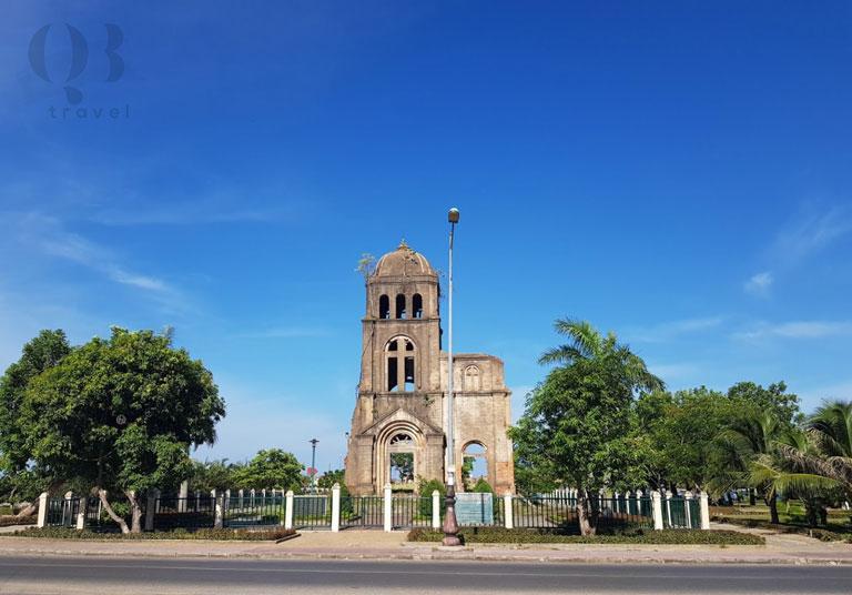 Di tích nhà thờ Tam Tòa tại thành phố Đồng Hới