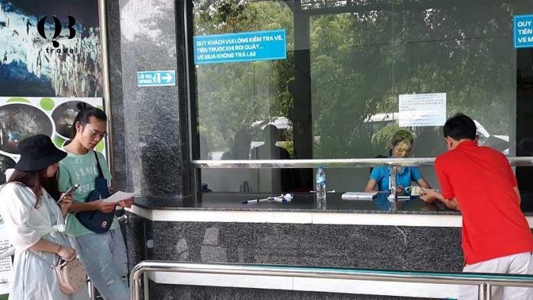 Địa điểm bán vé tham quan ở Phong Nha Kẻ Bàng