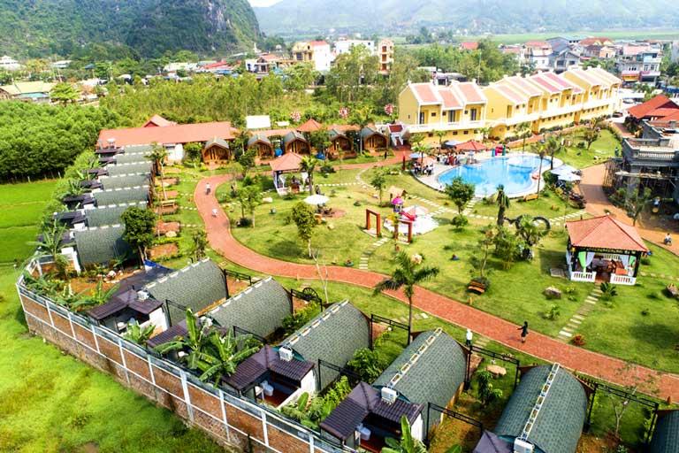 Đoàn Gia Resort - Resort tại Quảng Bình sở hữu không gian gần gũi với thiên nhiên và phong cách phòng độc đáo