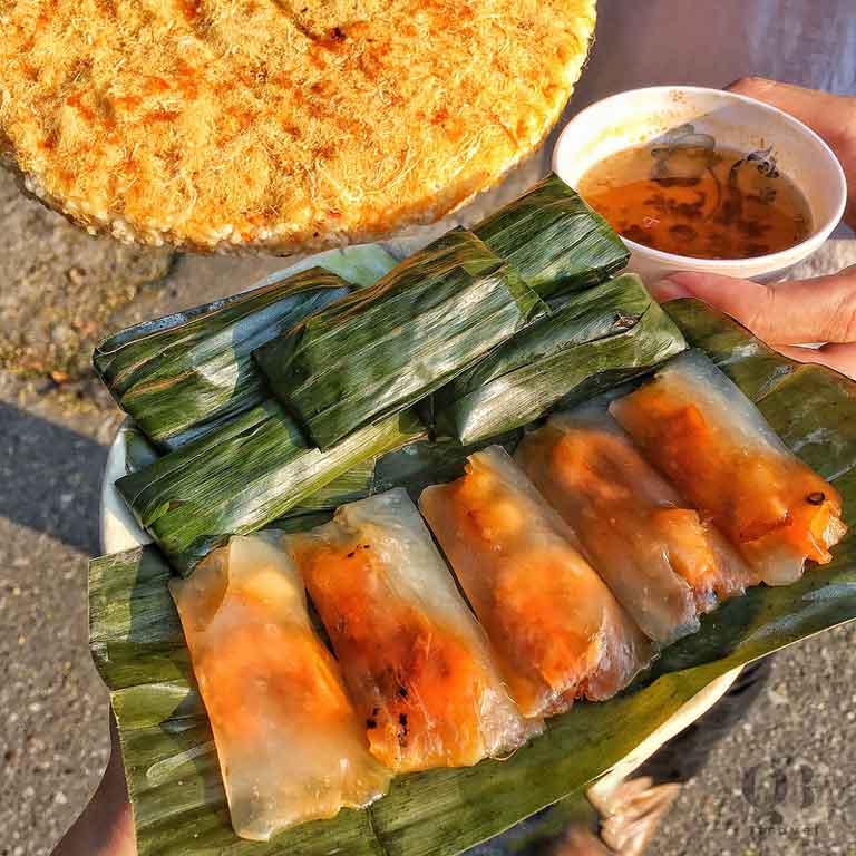 Bánh bột lọc Quảng Bình được rất nhiều du khách yêu thích