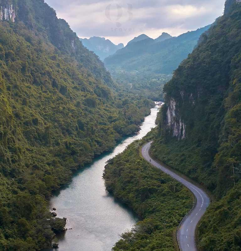 Cung đường đến Suối Nước Moọc Quảng Bình với nhiều cảnh đẹp