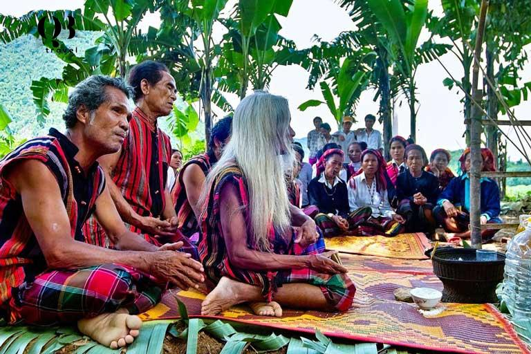 Lễ hội trỉa lúa của người dân tộc Bru-Vân Kiều