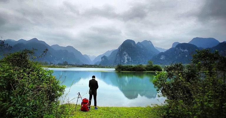 Hồ Yên Phú - nơi ghi hình bộ phim Kong: Skull Island tại Quảng Bình