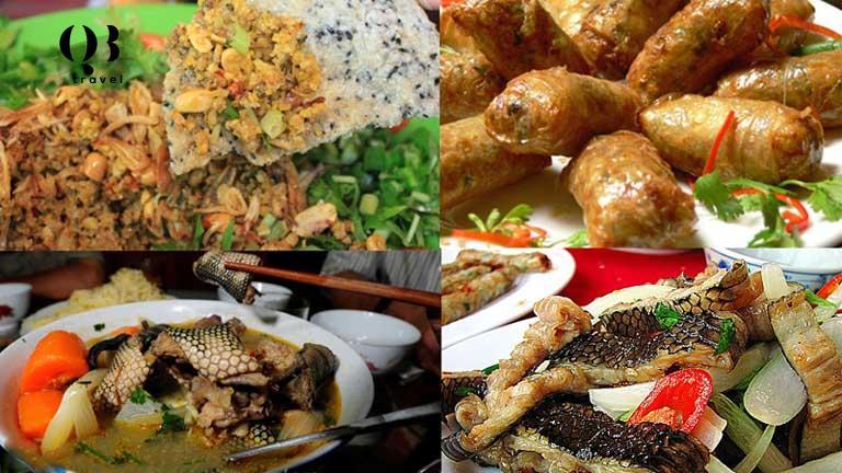Hương vị độc đáo của các món ăn từ Đẻn biển