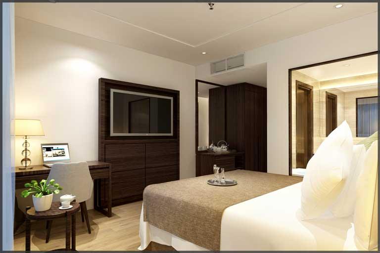 Phòng nghỉ mang đến sự thoải mái, thư giãn