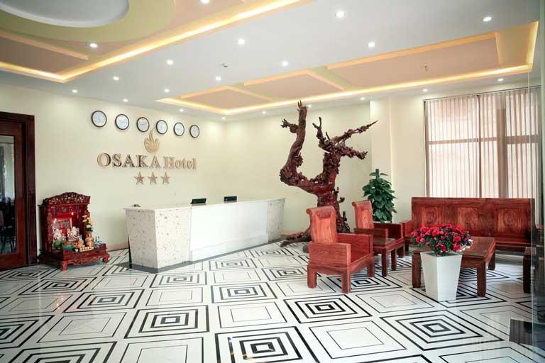 Không gian tại khách sạn Osaka Quảng Bình