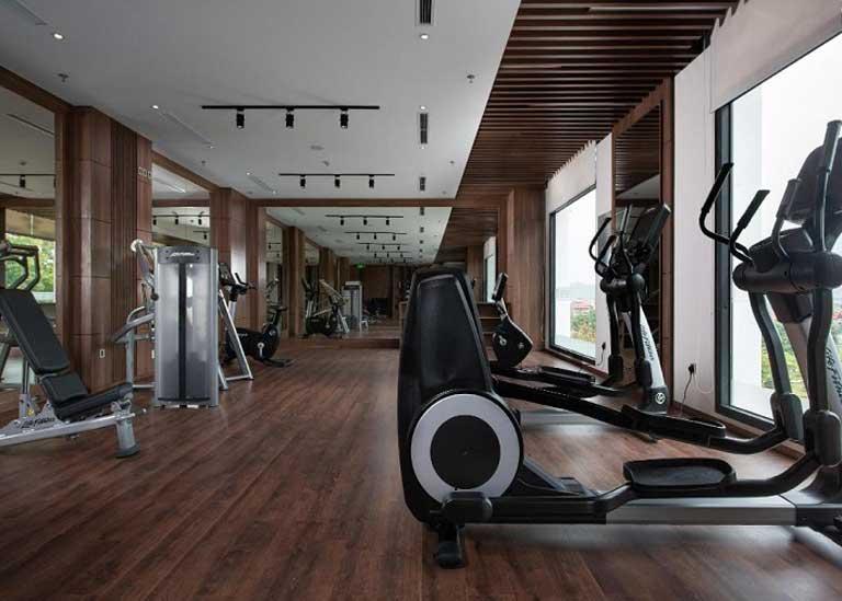 Phòng tập thể dục hiện đại tại khách sạn Vinpearl