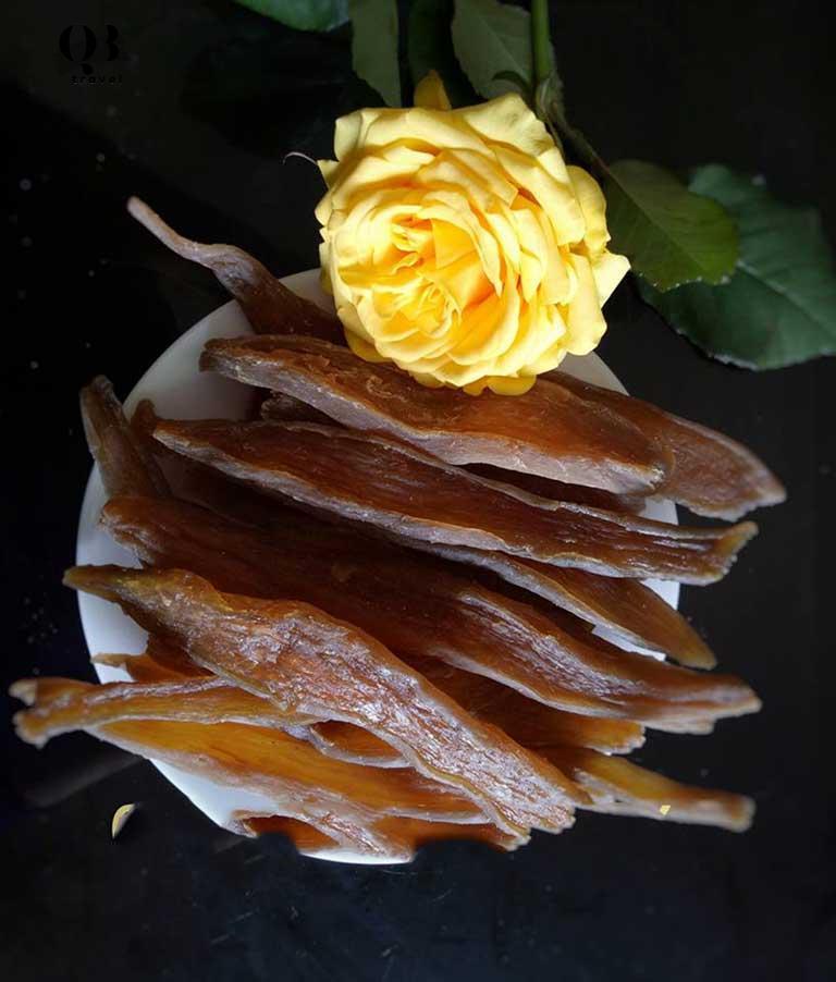 Khoai deo là món ăn biểu tượng của Quảng Bình