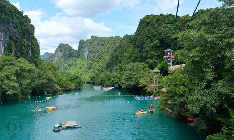 Sông Chày - Hang Tối với đa dạng loại hình vui chơi