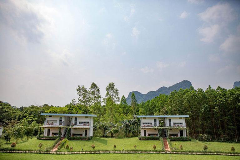 Chày Lập Farmstay & Resort với không gian thân thiện với thiên nhiên