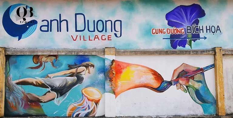 Cung đường làng bích họa Cảnh Dương Quảng Bình