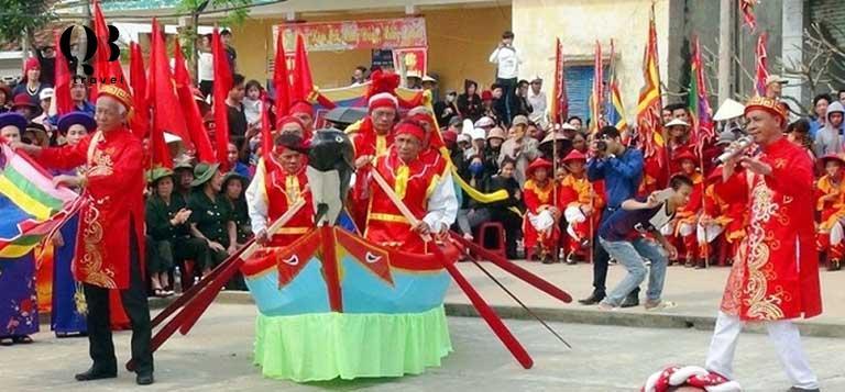 Các hoạt động lễ hội náo nhiệt ở Cảnh Dương
