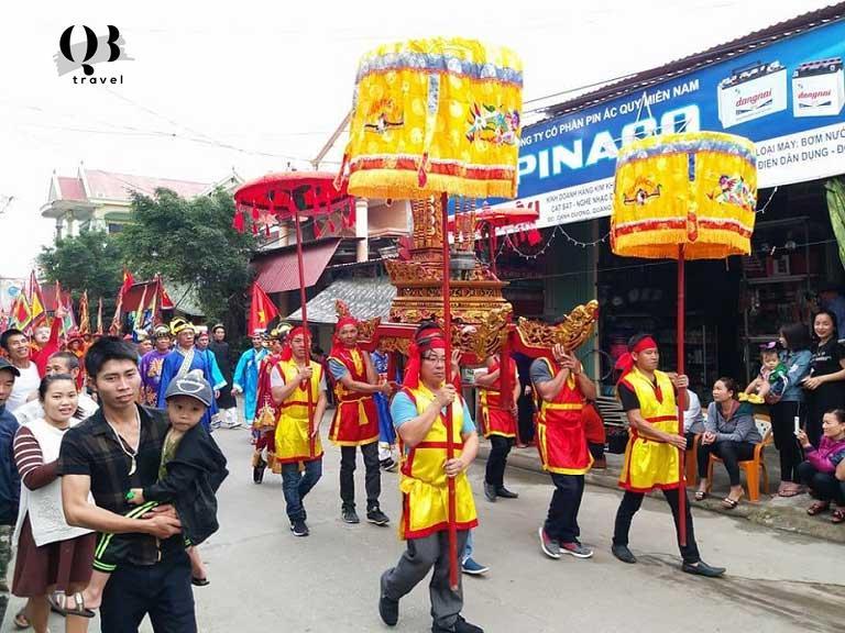 Lễ hội Cầu Ngư ở thị trấn Cảnh Dương Quảng Bình