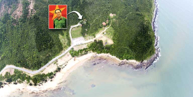 Đường đi đến Lăng mộ Đại tướng Võ Nguyên Giáp Quảng Trạch Quảng Bình