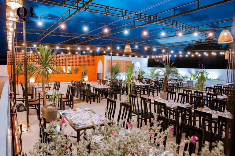 Nhà hàng Lá Cọ Beach Flamigo nổi tiếng hấp dẫn biết bao du khách