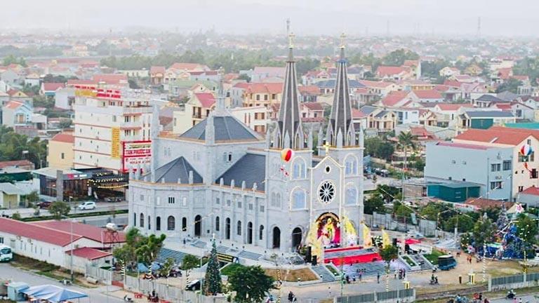 Nhà thờ Tam Tòa mới hiện nay