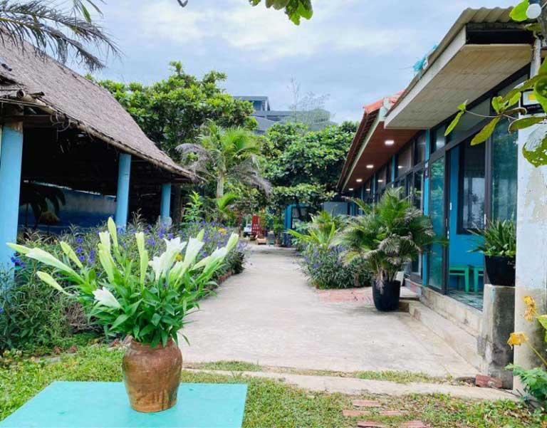 Seasand Homestay với phong cách hướng xanh