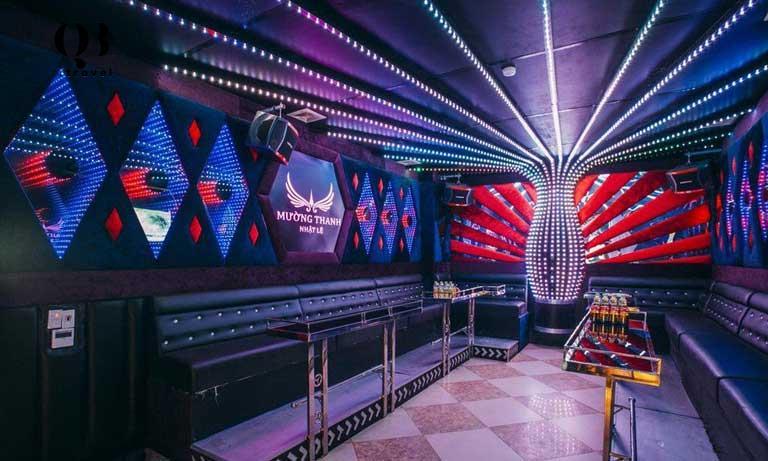 Phòng karaoke tại khách sạn Mường Thanh Luxury Nhật Lệ