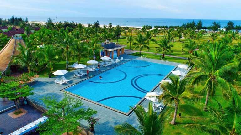 Celina Peninsula Resort - Resort đẹp ở Quảng Bình với view nhìn ra biển thích mê