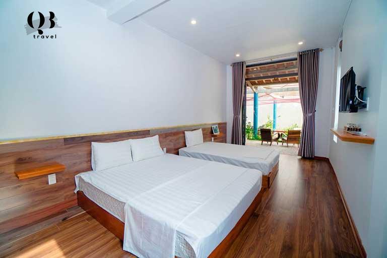 Phòng nghỉ rộng rãi, sạch sẽ ở Seasand Homestay