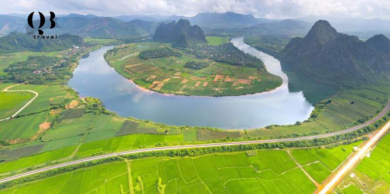 Vẻ đẹp yên bình của sông Gianh sau bao thăng trầm lịch sử