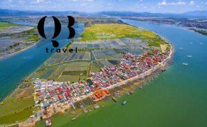Làng xóm quây quần hai bên bờ sông Gianh Quảng Bình