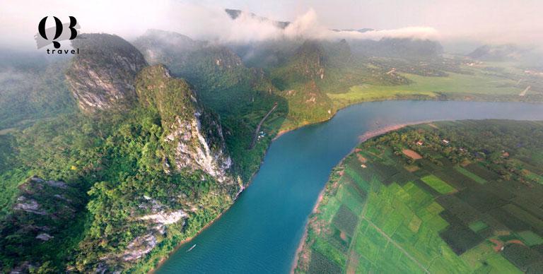 Hùng vỹ Sông Gianh Quảng Bình
