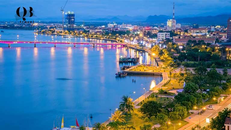 Nét đẹp mộng mơ của dòng sông Nhật Lệ Quảng Bình