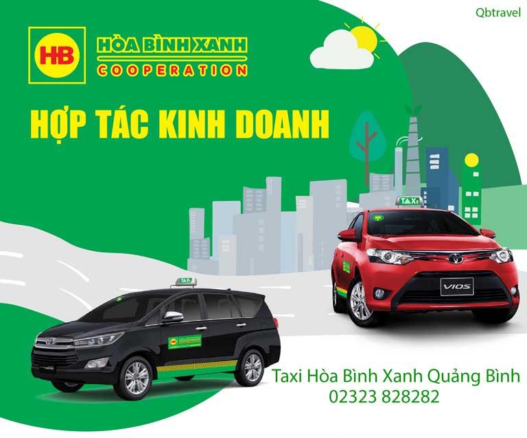 Taxi Quảng Bình Hòa Bình Xanh