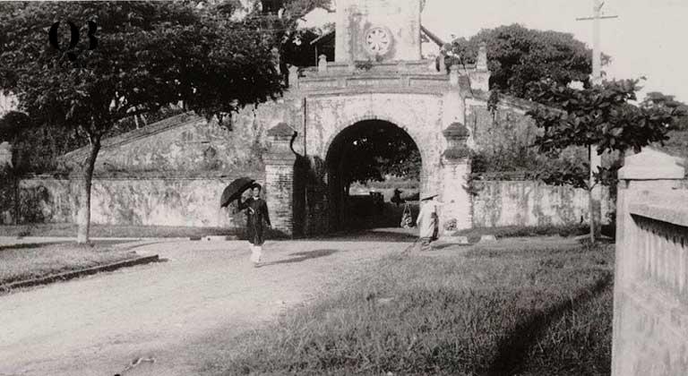 Cổng Thành cổ Đồng Hới Quảng Bình xưa