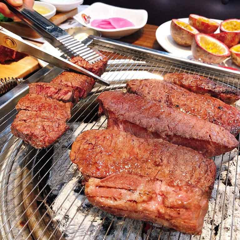 Các món nướng mang phong cách Hàn Quốc tại KoKi BBQ
