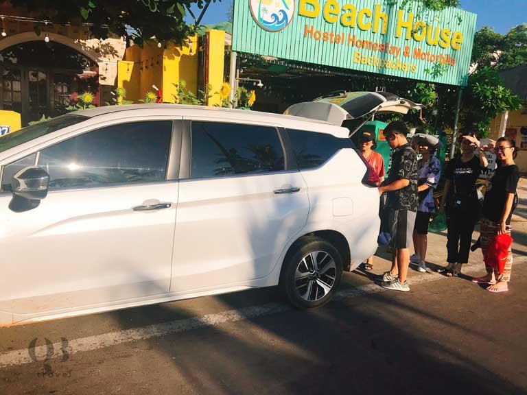 Dịch vụ thuê xe tại Quảng Bình rất thuận tiện