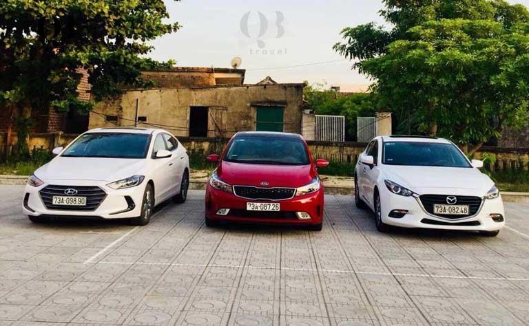 Các dòng xe đời mới, chất lượng cao 2021 - thuê xe Đồng Hới Quảng Bình