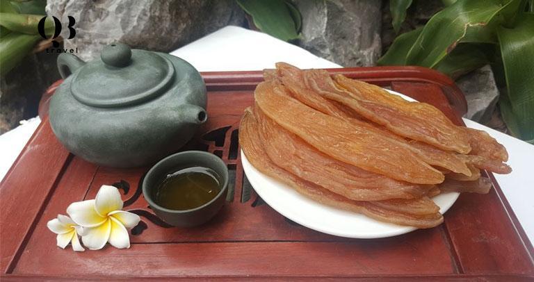 Khoai deo và trà - một cách thưởng thức tuyệt vời