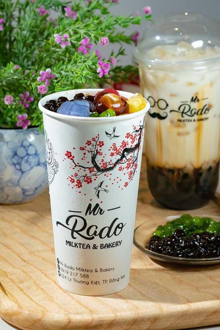 Mr Rado là điểm đến cho những ai đam mê trà sữa lẫn bánh ngọt