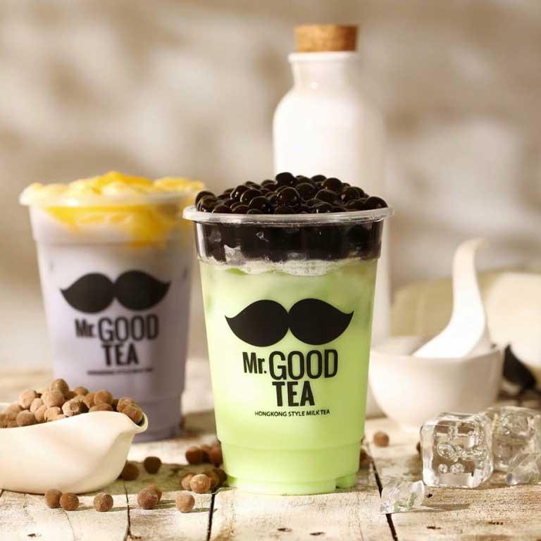Trà sữa Mr Good Tea có hương vị thơm ngon, bắt mắt và bổ dưỡng