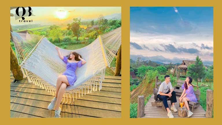 View cực chất tại Vyanh Villa Quảng Bình