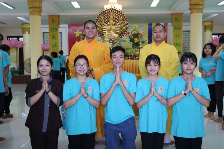Hoạt động ý nghĩa cho các bạn trẻ tại chùa Đại Giác