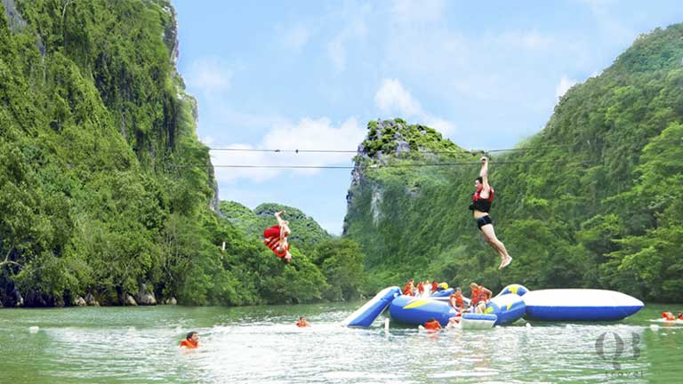 Điểm vui chơi tại Sông Chày - Hang Tối tại vườn quốc gia Phong Nha Quảng Bình