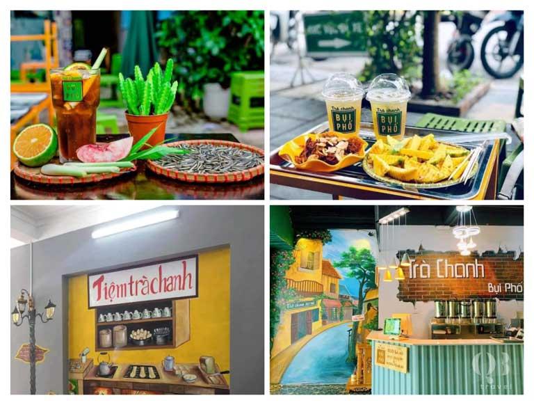 Đây là tiệm trà chanh gần gũi phong cách trà chanh đường phố được giới trẻ rất thích