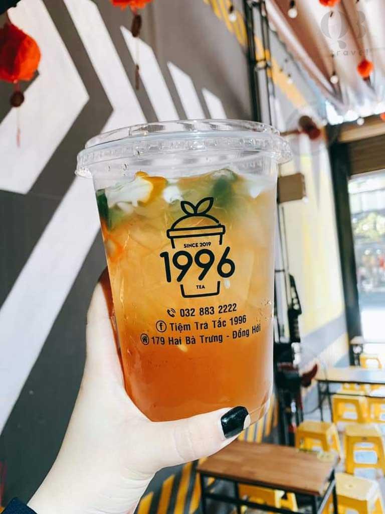Các món uống, các loại trà của 1996 vừa ngon lại còn siêu rẻ