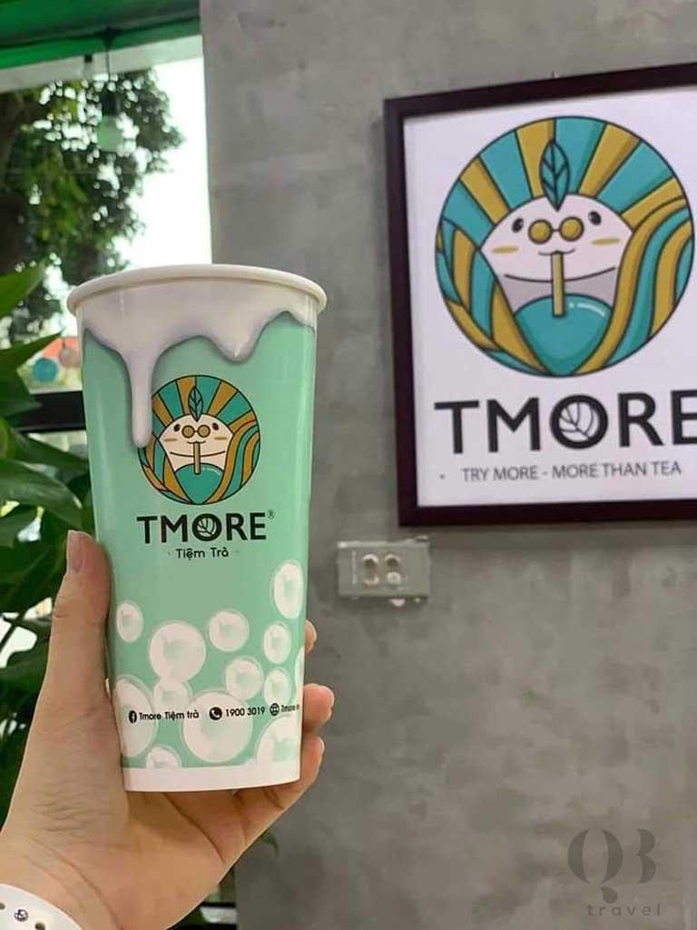 Trà chanh Tmore là cái tên nổi tiếng và chất lượng của Đồng Hới
