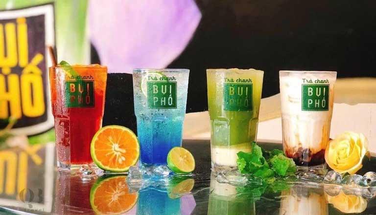 Trà chanh Bụi Phố có đủ hương vị đồ uống cực ngon cho bạn