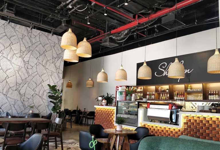 Các quán cà phê ở Quảng Bình có không gian rất đẹp