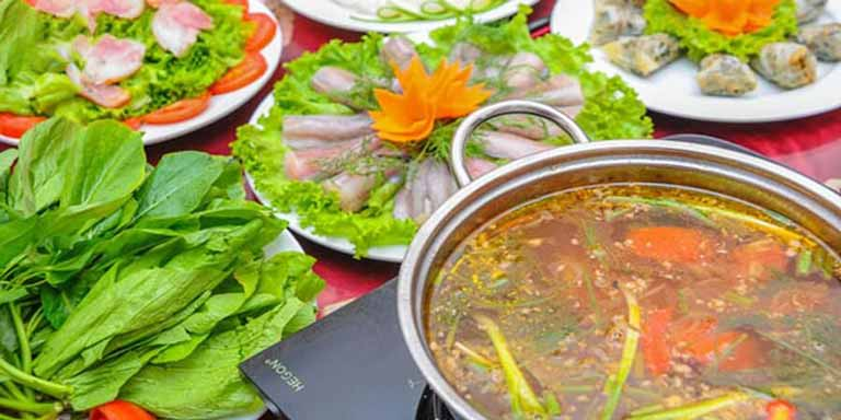 Lẩu cá khoai Quảng Bình thơm ngon hấp dẫn