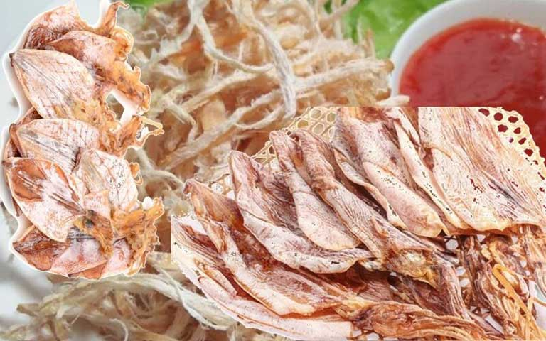 Mực khô Quảng Bình rất thích hợp để mua làm quà
