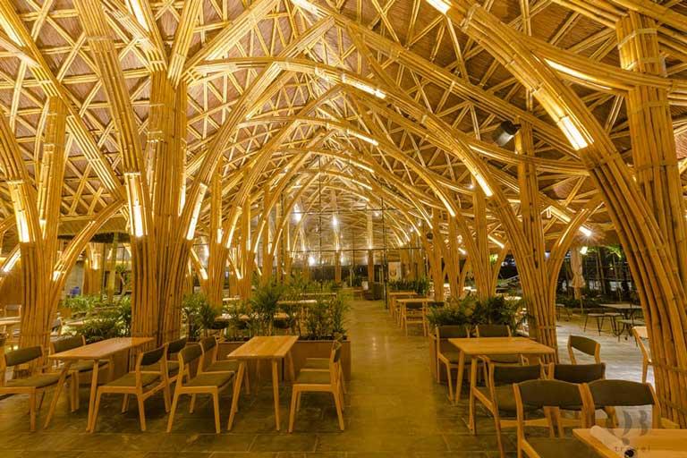 Không gian hoành tráng của nhà hàng Everland
