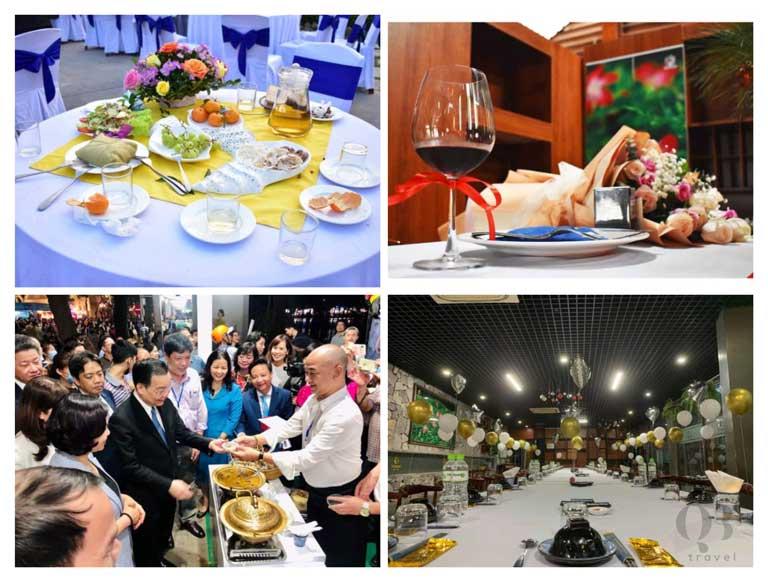 Nhà hàng đặc biệt có không gian lớn sang trọng và masterchef Việt Nam tài năng